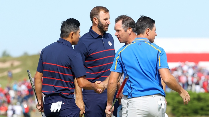 Friday's four-ball pairings have been confirmed