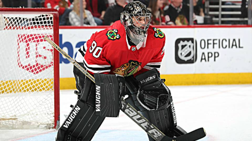 Blackhawks emergency goalie Scott Foster shares game experience for first time