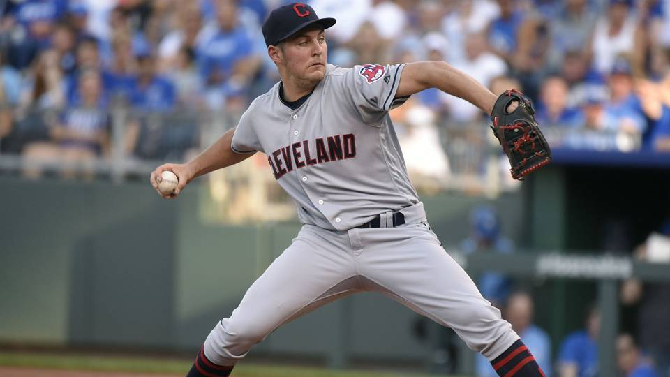 Indians injury update: Trevor Bauer to have X-ray after getting hit; Edwin Encarnacion heads to DL