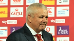 Warren Gatland was disappointed with the Lions' second-half display