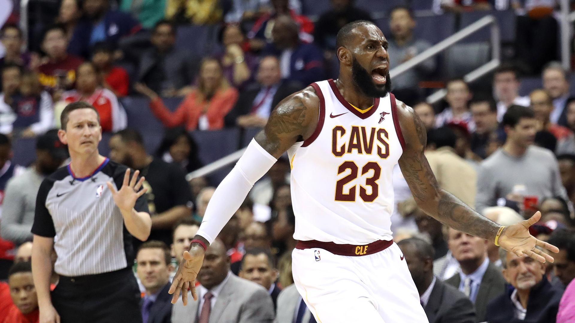 NBA wrap: LeBron James rips own team as Raptors thrash Cavs