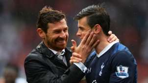Andre Villas-Boas and Gareth Bale - cropped