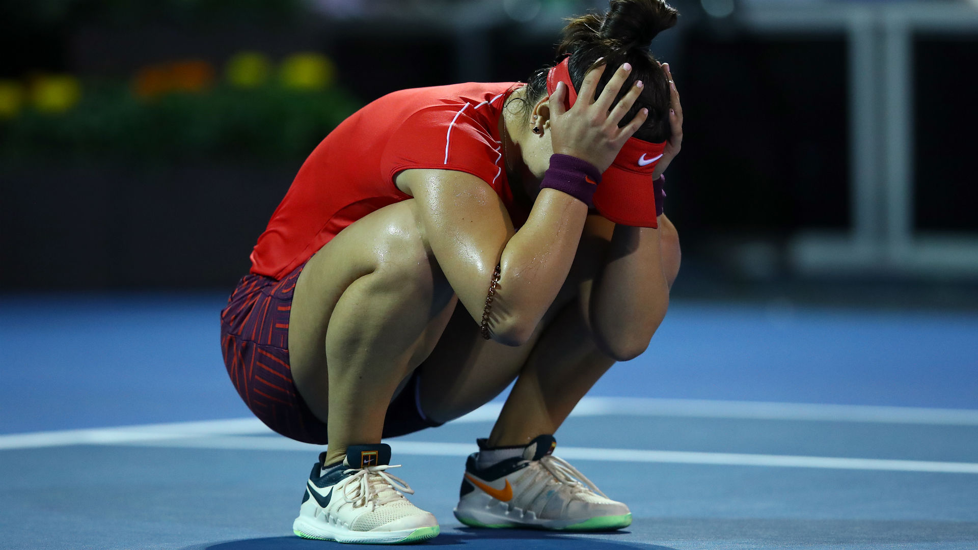 Caroline Wozniacki Stunned By World Number 152 Andreescu