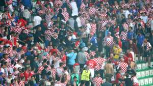 Croatia fans - cropped