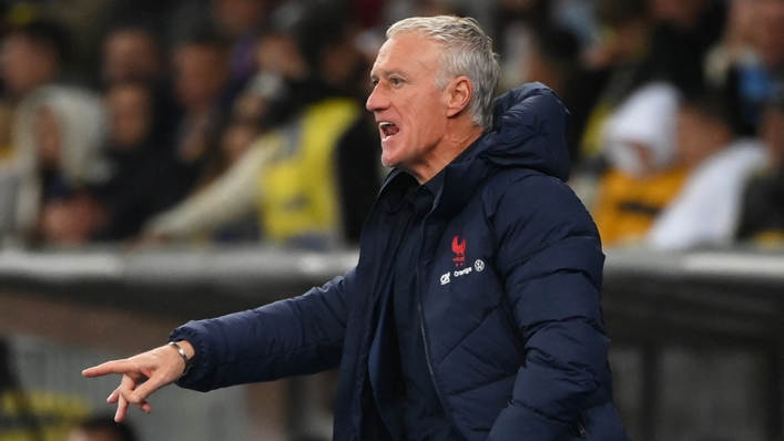 Didier Deschamps praised his France team after they ended a five-game winless run by defeating Finland.
