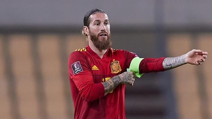 Real Madrid and Spain captain Sergio Ramos