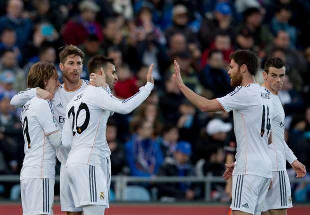Getafe 0-3 Real Madrid: Blancos breeze past city rivals
