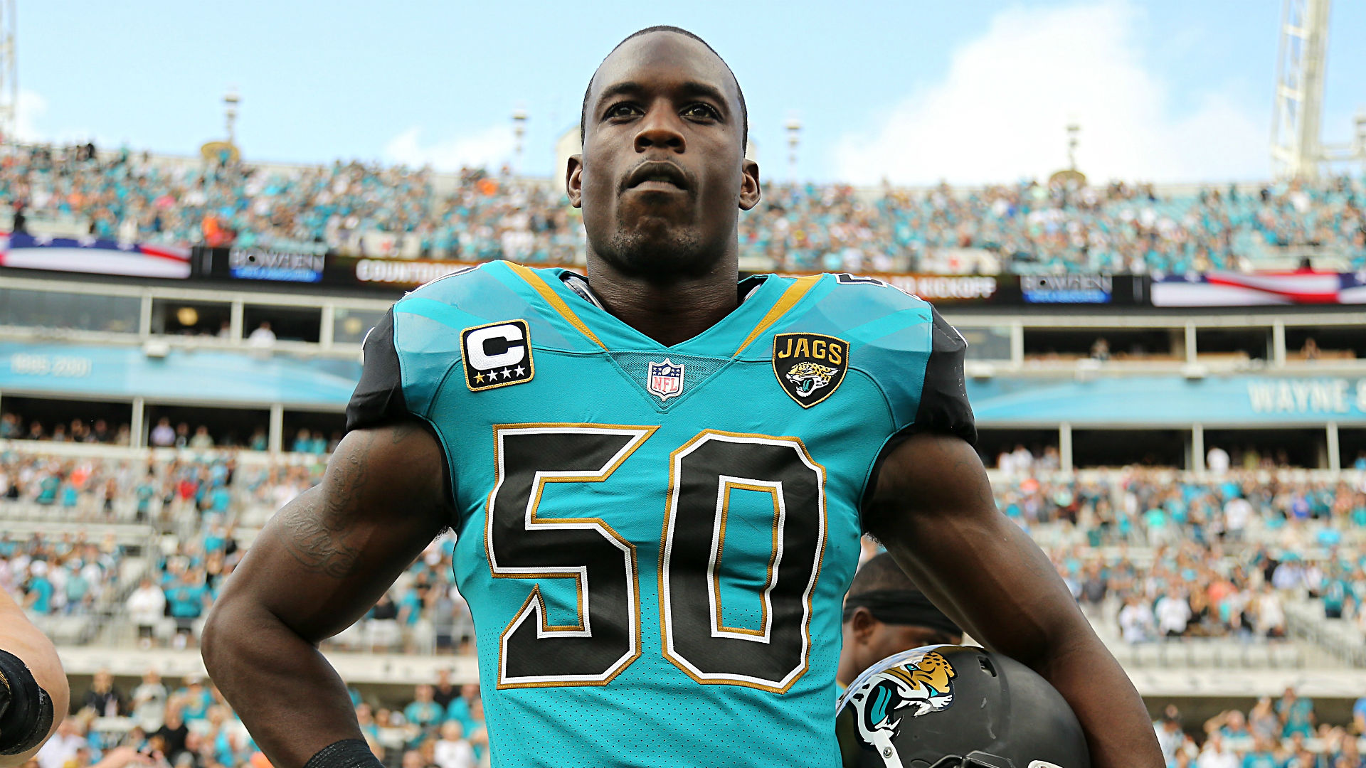 Jaguars' Smith says NF...