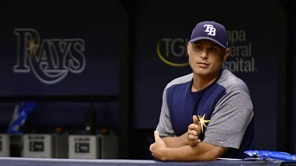 Rays, manager Kevin Cash agree to multiyear extension