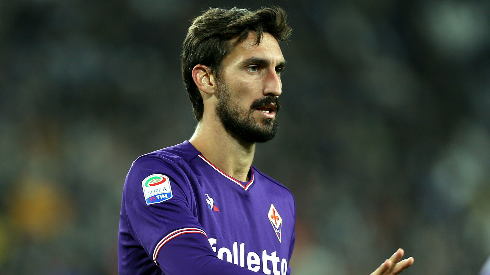 Fiorentina have changed their logo in honour of fallen captain Davide Astori