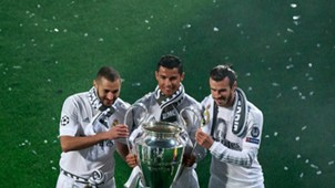 Bale, Benzema, Cristiano