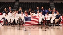 Team USA won wheelchair basketball gold