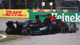 Lewis Hamilton and Max Verstappen crashed out at Monza