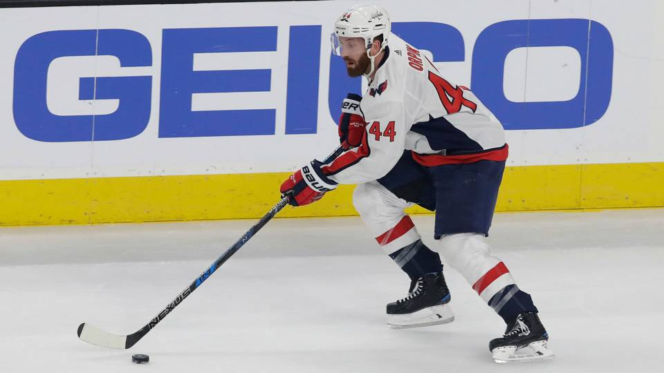Capitals' Brooks Orpik lost part of finger in Stanley Cup Final, kept playing