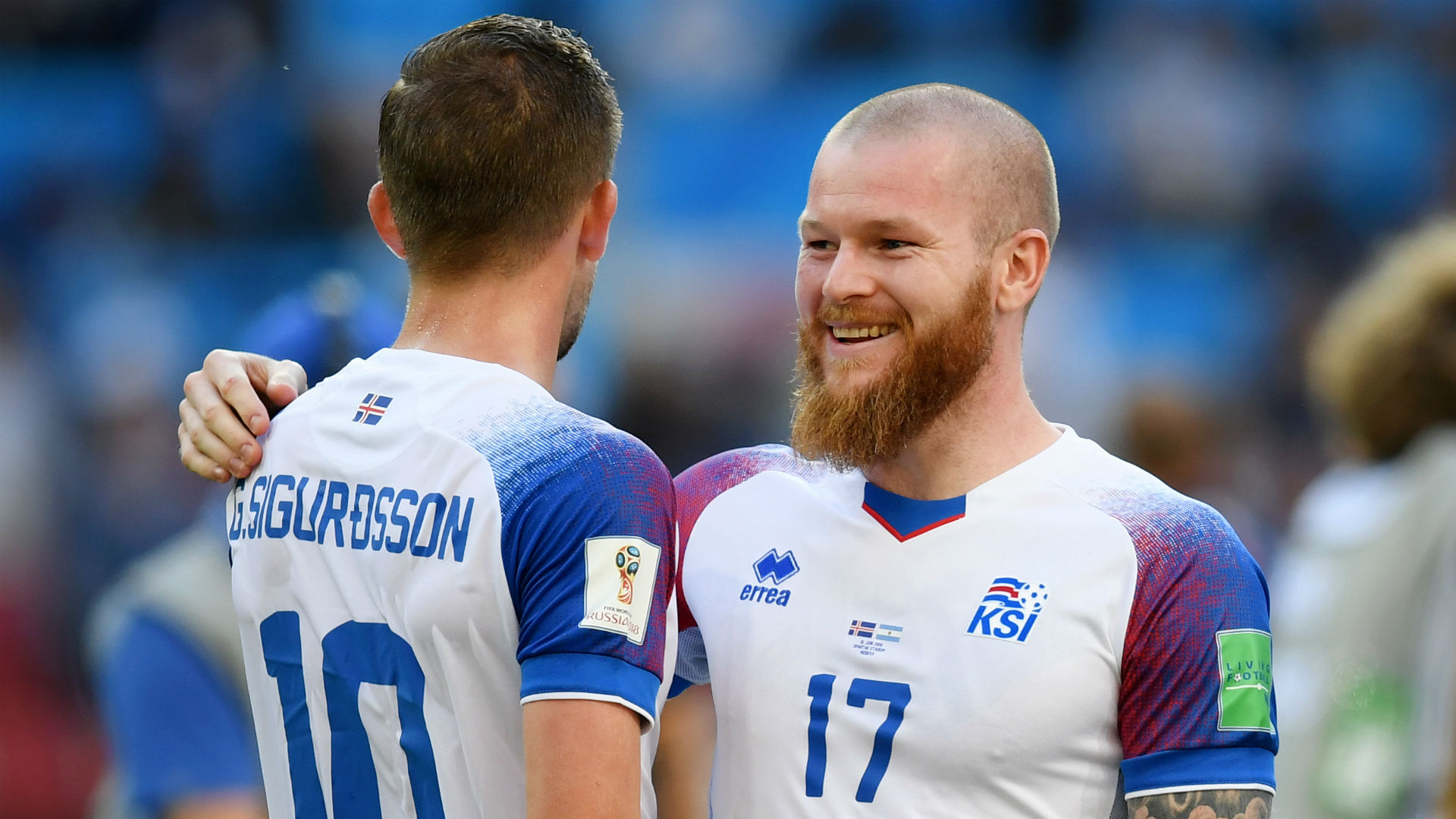 Iceland Captain, Gunnarsson: Nigeria Will Be Tougher Than Argentina
