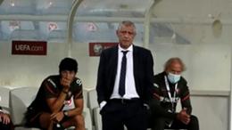 Fernando Santos saw his side score three unanswered goals against Azerbaijan