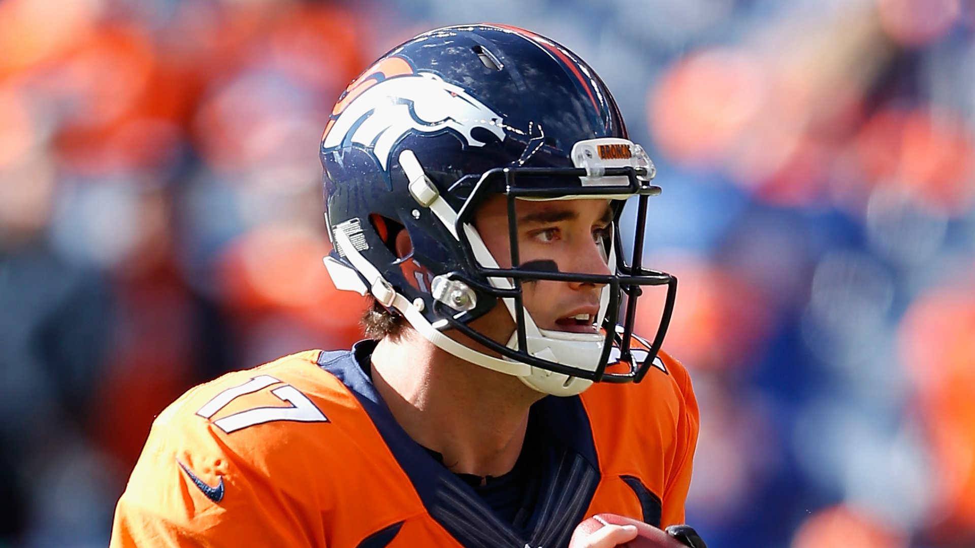 Broncos name Brock Osweiler starting QB vs. Eagles