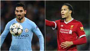 Ilkay Gundogan and Virgil van Dijk
