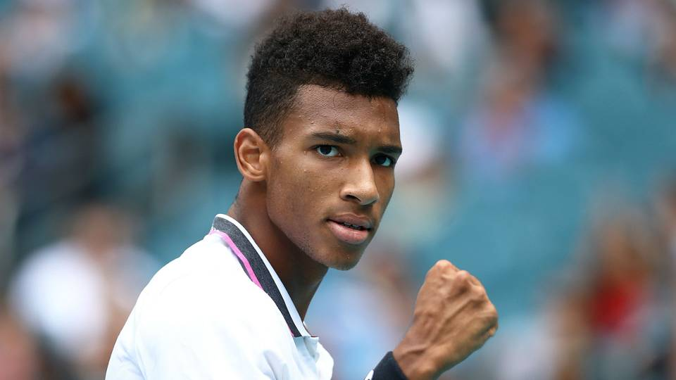 Piano playing a part in fine-tuning rising star Felix Auger-Aliassime
