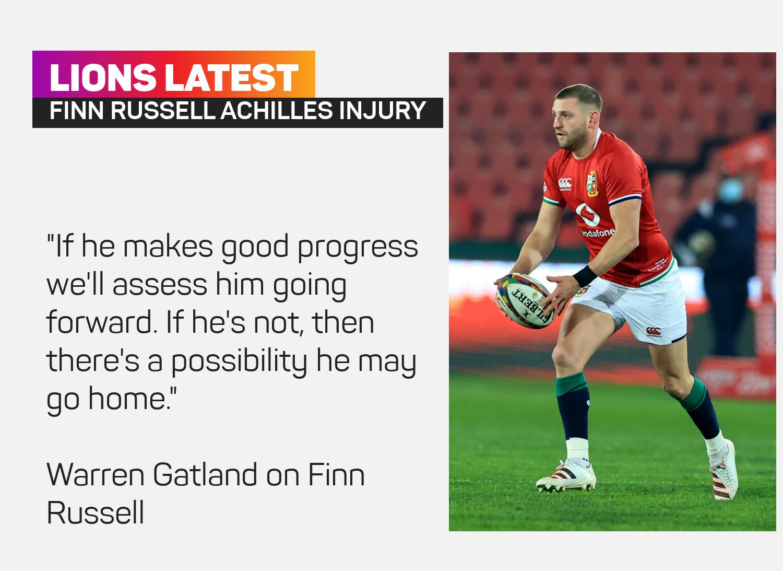 Finn Russell injury latest