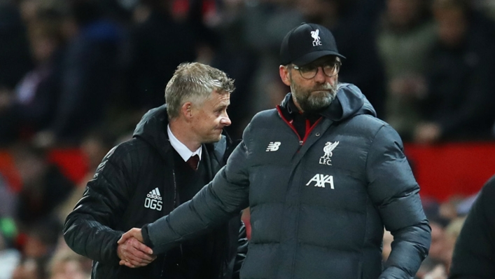 Ole Gunnar Solskjaer seemed to suggest Jurgen Klopp is to blame for decisions going against Manchester United