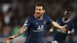 Lionel Messi scored his first goal for PSG