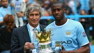 Manuel Pellegrini and Yaya Toure - cropped
