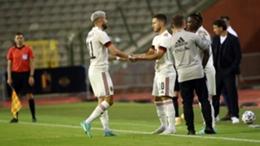Eden Hazard comes on to face Croatia