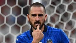 Italy defender Leonardo Bonucci
