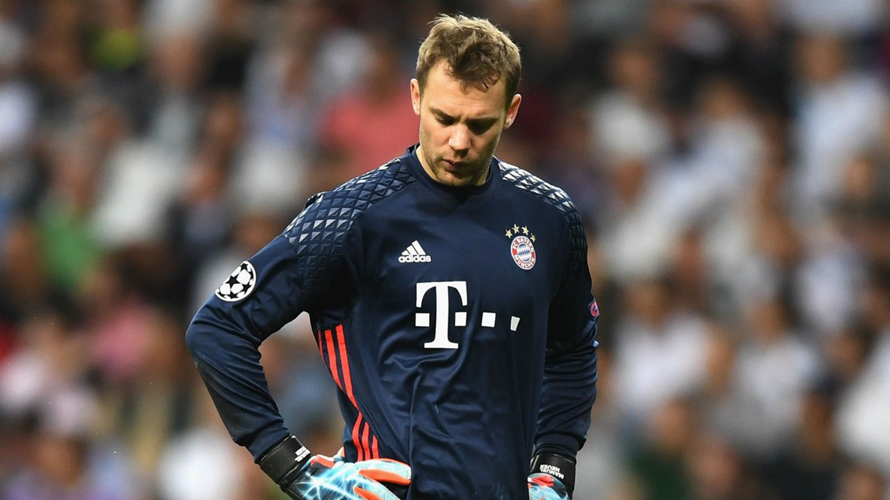 Bayern Munich Manuel Neuer out for the season