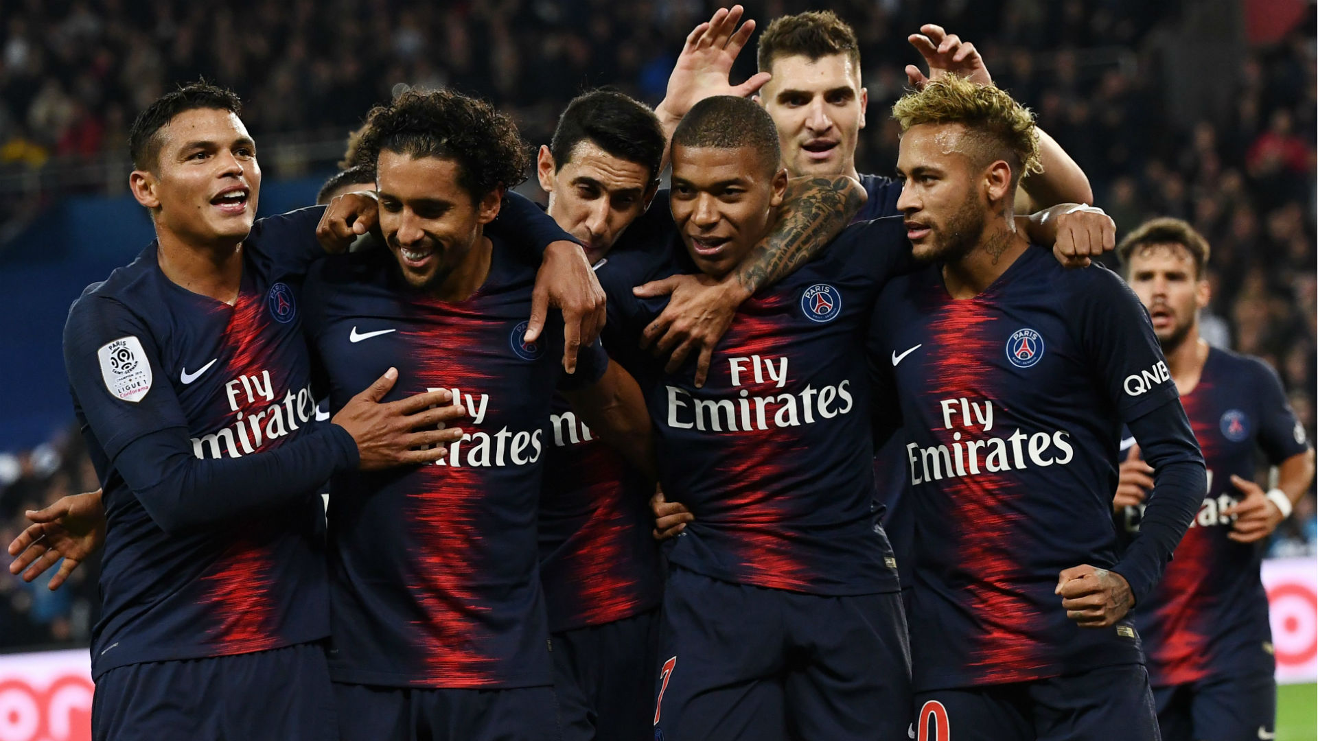 Four-star Kylian Mbappe helps PSG break 82-year-old record