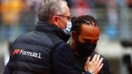 Lewis Hamilton finished fifth at the Turkish Grand Prix