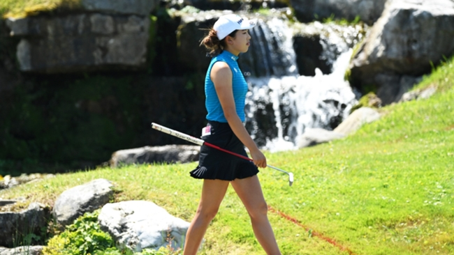 Yealimi Noh at the Evian Championship