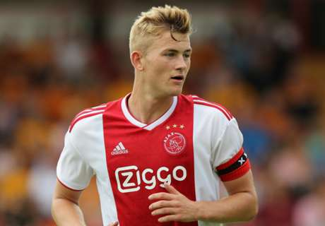 Barcelona target De Ligt needs step up in club, says Koeman