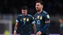 Lionel Messi following Argentina's win over Peru