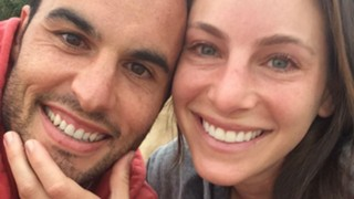 Landon Donovan and Hannah Bartell