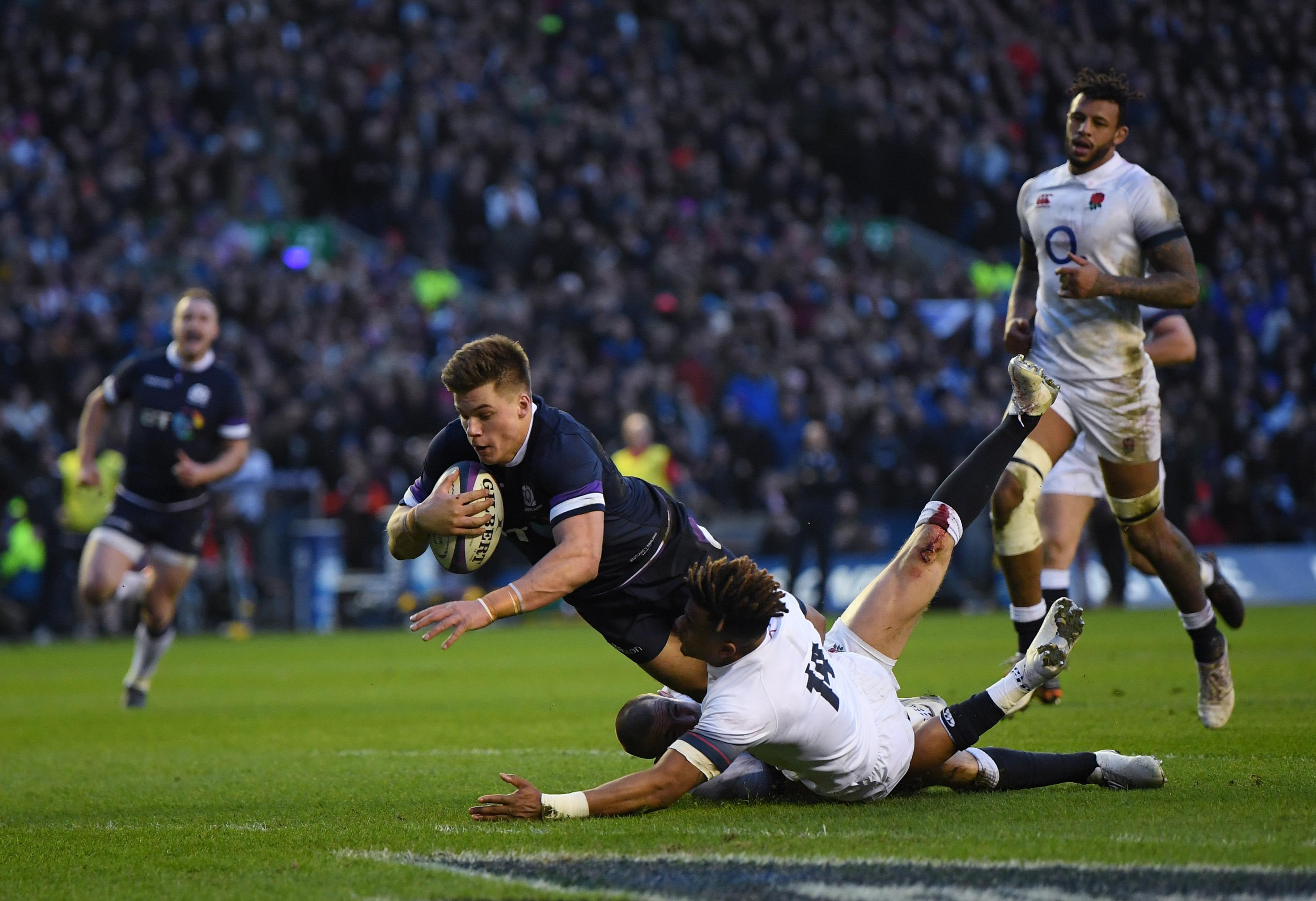 Six Nations 2018: Finn Russell redeemed as Scotland seals rare win over England
