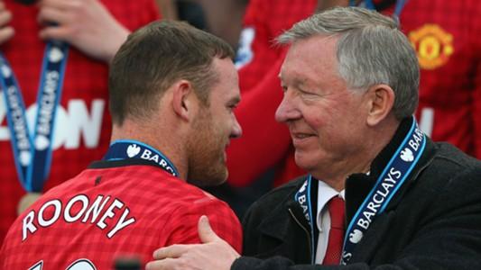 Wayne Rooney Alex Ferguson - cropped