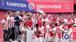 Ajax celebrate their latest title triumph