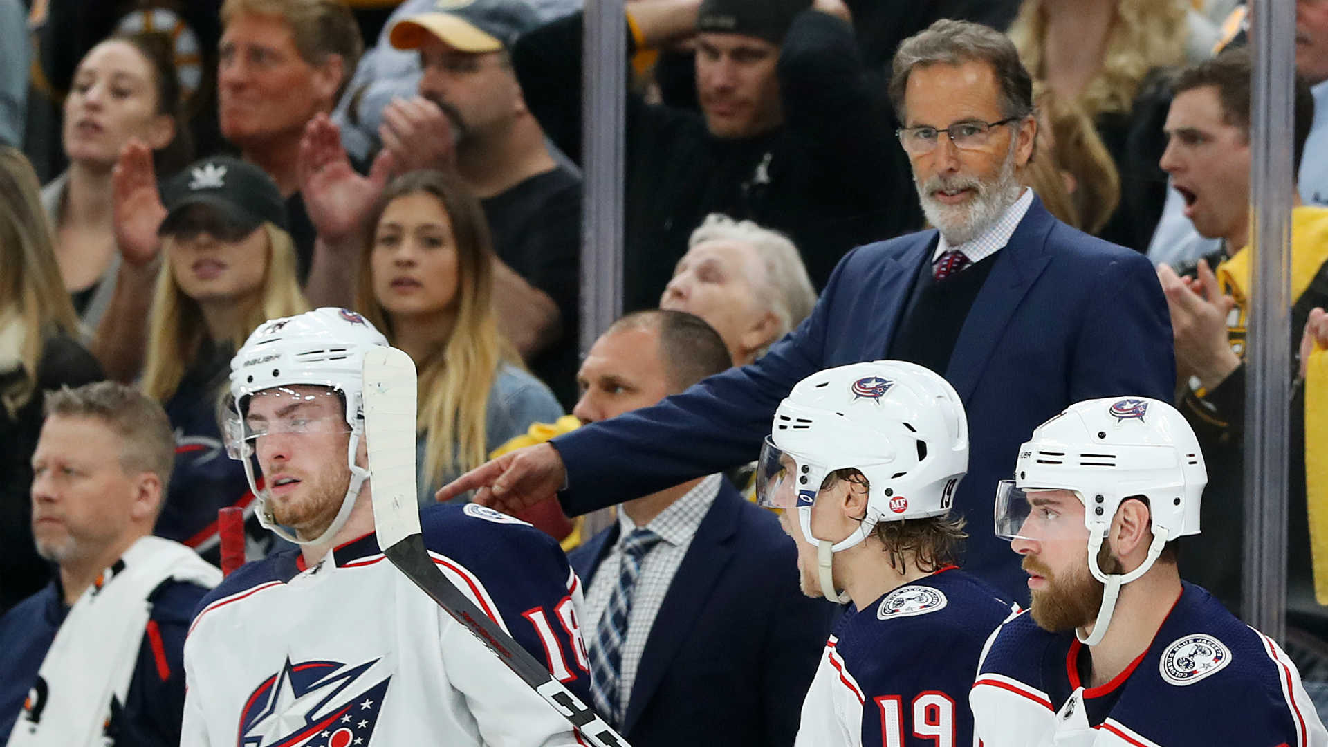 Blue Jackets coach John Tortorella has skin cancer removed from forehead