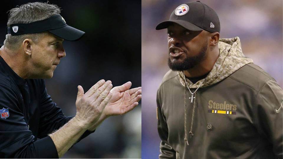 Saints, Steelers coaching staffs to lead Pro Bowl teams