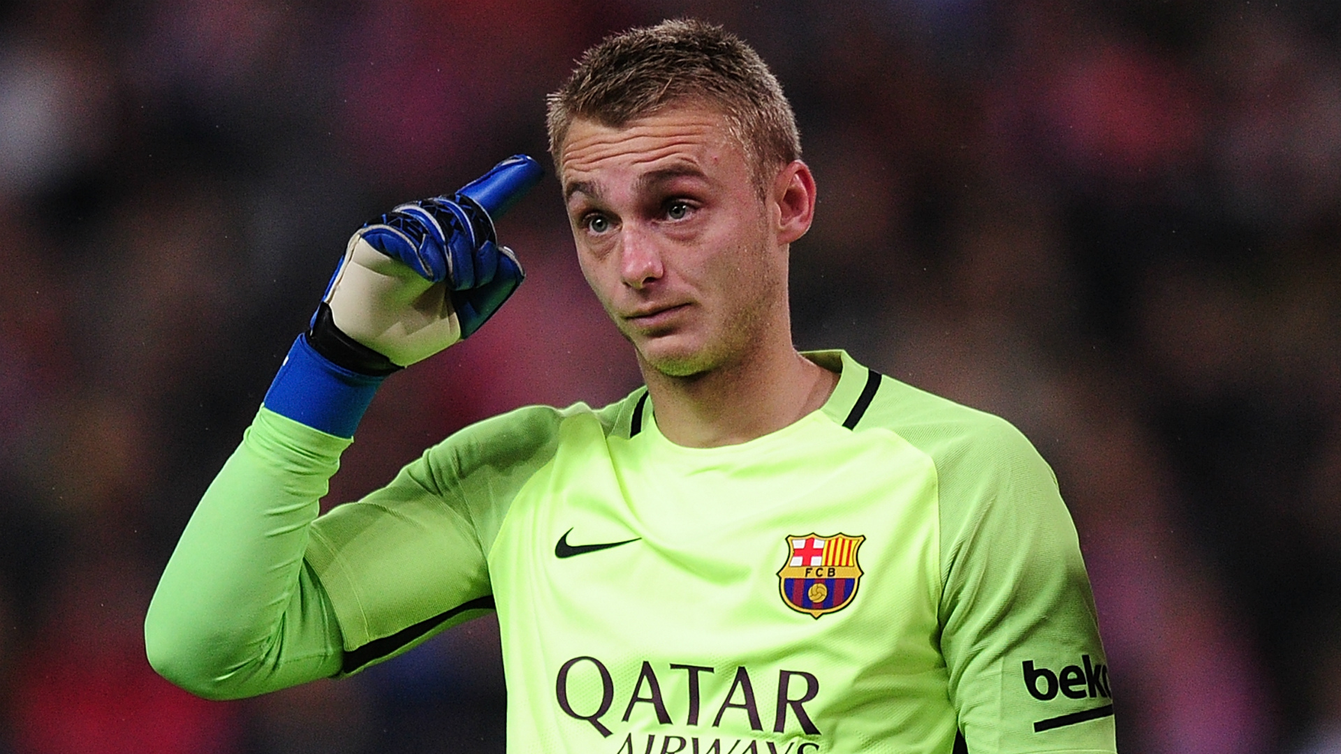 Barcelonas Jasper Cillessen To Fight For No  Spot But Could Consider January Exit Goal Com