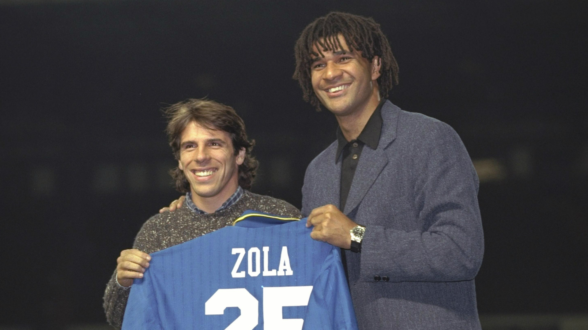 Gianfranco Zola and Ruud Gullit - cropped