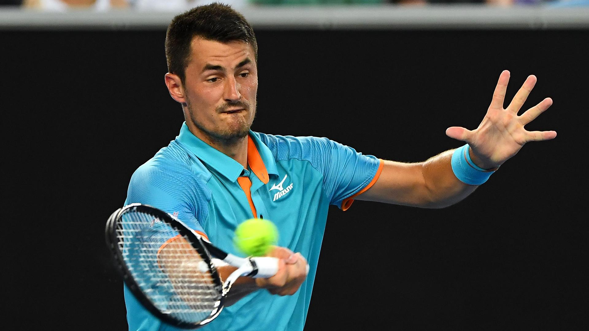 New York Open: Bernard Tomic sets up second-round clash against John Isner