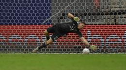 Argentina goalkeeper Emiliano Martinez