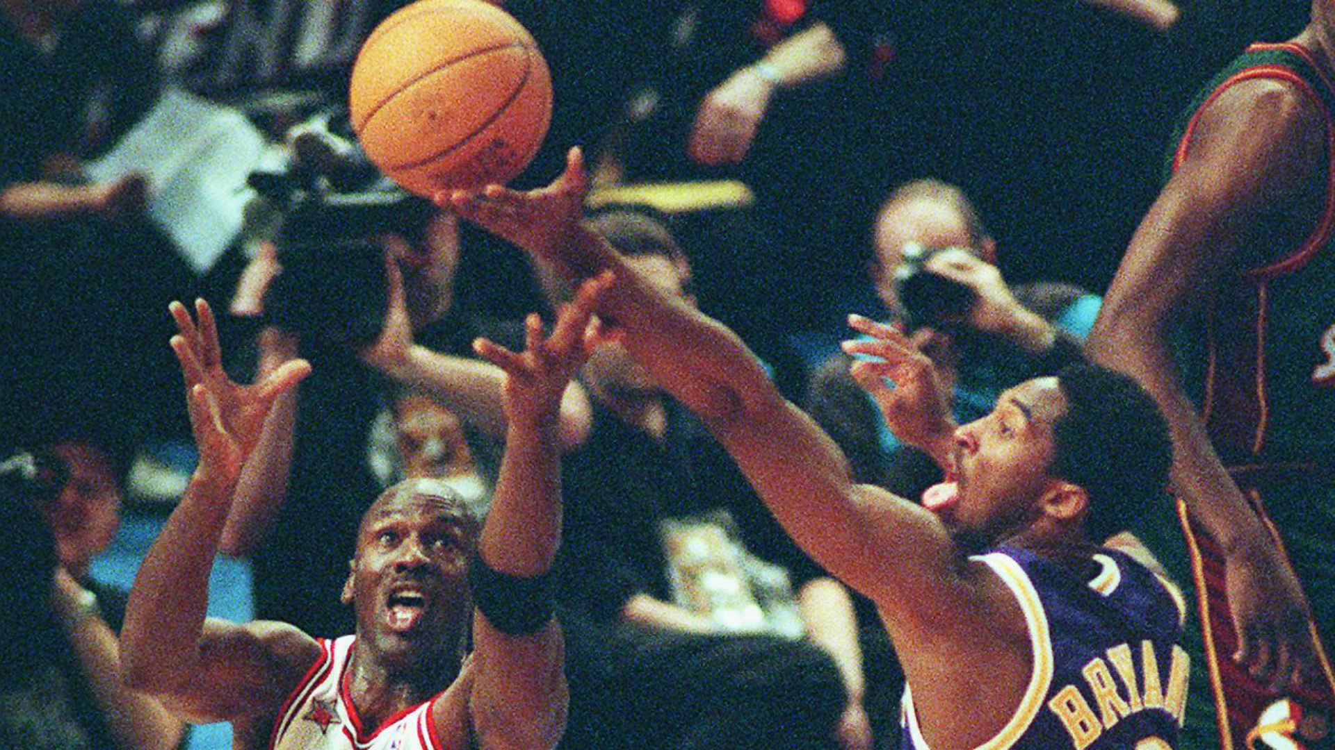 07c956c7ab4b This Day In History  Kobe Bryant vs. Michael Jordan and the 1998 NBA  All-Star Game