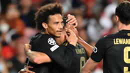 Bayern Munich's Leroy Sane