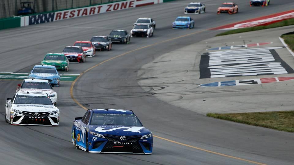 NASCAR results at Kentucky: Martin Truex Jr. dominates to win Quaker State 400 again