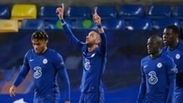 Hakim Ziyech scored twice but Chelsea held by Tottenham at Stamford Bridge