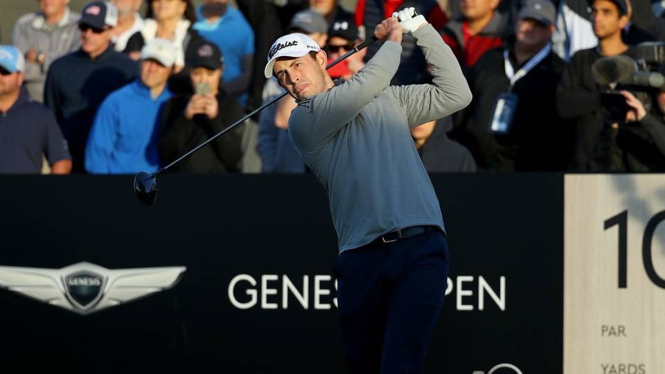 Patrick Cantlay, Graeme McDowell, Sam Saunders lead at Riviera as Tiger Woods exits